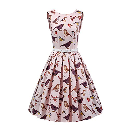 LUOUSE Vintage 1950s Inspired Rockabilly