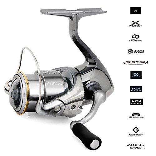 - SHIMANO Stella 3000FJ XG Front Drag Freshwater Spinning Reel