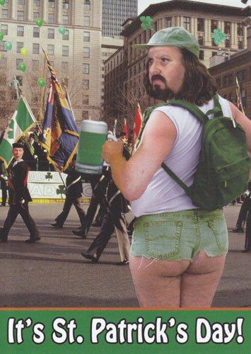 (1) Greeting Card St Patrick's Day Humor