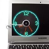 NYKKOLA USB LED Fan Clock