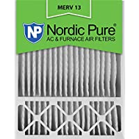 Nordic Pure 20x25x5HM13-2 20x25x5, MERV 13, Honeywell Replacement Air Filter, Box of 2, 5-Inch