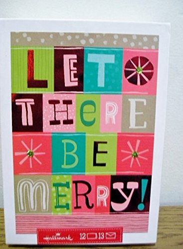 Hallmark-Christmas-Holiday-Boxed-Cards-Let-There-Be-Merry-12-Cards-13-Envelopes