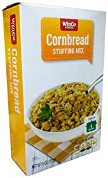 Winco Foods CORNBREAD STUFFING MIX 6oz (8 Pack)