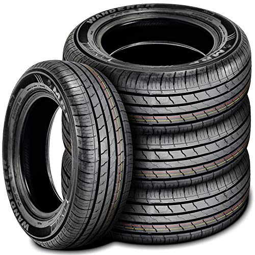 Set of 4 (FOUR) MRF Wanderer Street All-Season Touring Radial Tires-215/60R16 95H (Tires P215 60r16)