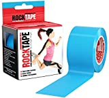 RockTape Kinesiology Tape for Athletes - 2 Inch x 16.4 Feet (Electric Blue)