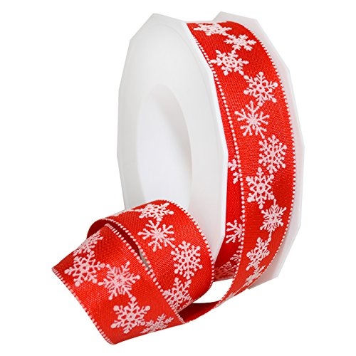 Morex Ribbon Petite Christmas Celebration Themed Grosgrain Ribbon, 1