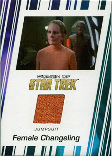 (Women of Star Trek 50th Anniversary Costume Card RC9 Salome Jens as Changeling)