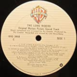 Ry Cooder - The Long Riders Original Motion Picture Sound Track - Warner Bros. Records - XHS 3448 Very Good Plus (VG+)/Near Mint (NM or M-) LP, Album