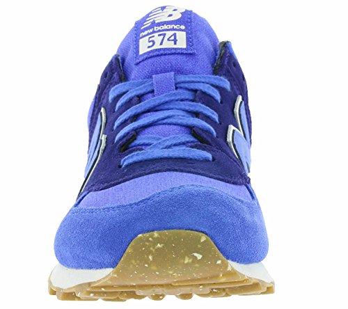 New Balance Men's 574 Vintage Low-Top Sneakers Blau outlet great deals clearance huge surprise cheap sale supply LRhL73