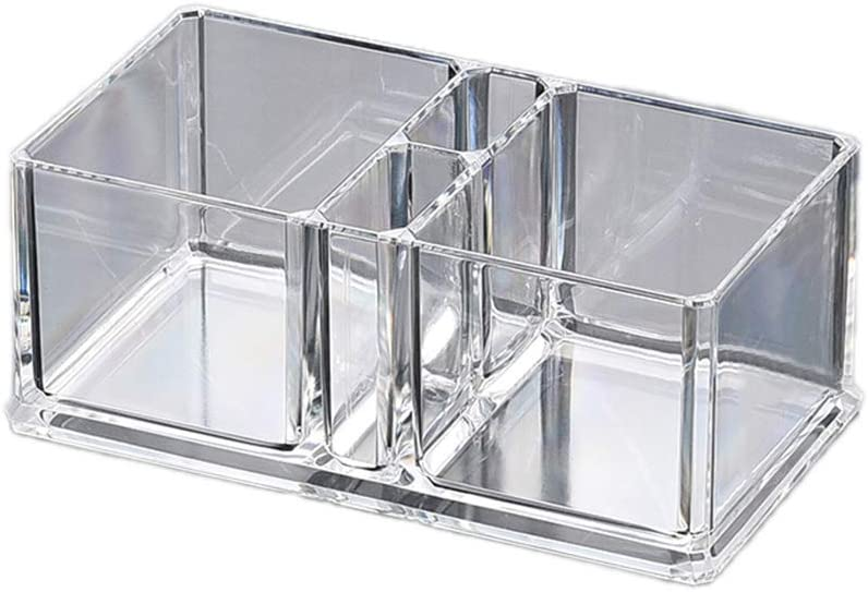 Servilletero de acr/ílico transparente para c/óctel caja de pa/ñuelos de papel organizador de pajitas para mesa de comedor o decoraci/ón del hogar B Deendeng dispensador de servilletas bar