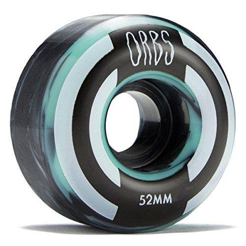 アパート賛辞スクラップブックWelcome Orbs Apparitionsスケートボードホイール – ミント/ブラック – 52 mm 100 A