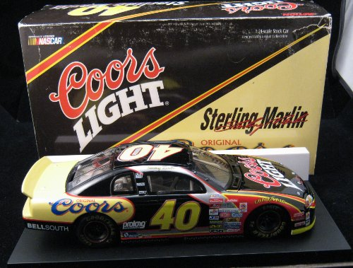 Sterling Marlin 40 Coors Light 1999 Monte Carlo 1:24 Scale Stock Car 1 OF 1200 MADE