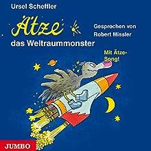 Ätze, das Weltraummonster (Ätze 8) Hörbuch von Ursel Scheffler Gesprochen von: Robert Missler