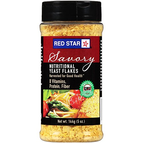 Red Star Nutritional Yeast VSF Mini Flake 5oz (pack of 2)