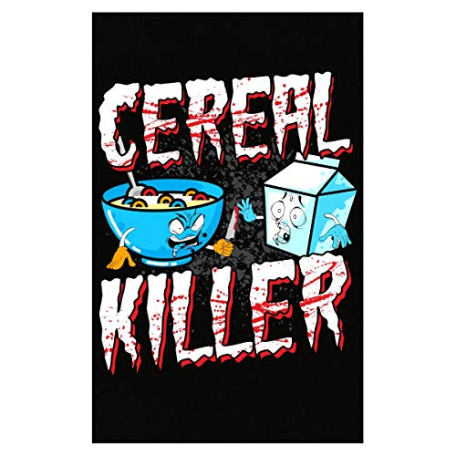 Funny Halloween Idea Cereal Killer Trick Or Treating - Poster ()