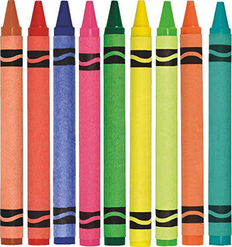 avgrafx Crayons Quality Peel Stick Fabric Wall Decal Removable Repositionable Stickers