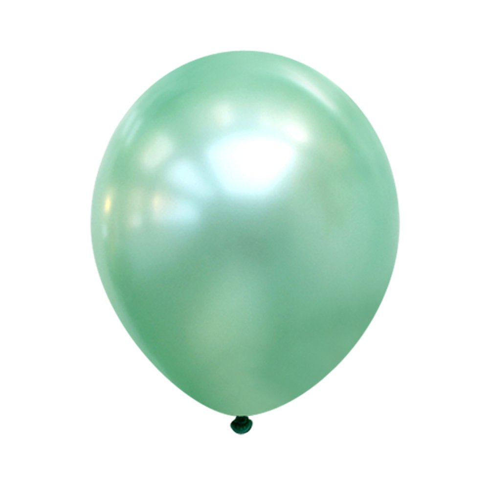 Neo LOONS 5 Inch Pearl Mint Green Premium Latex Balloons -- Great for Kids , Adult Birthdays, Weddings , Receptions, Baby Showers, Water Fights, or Any Celebration, Pack of 100