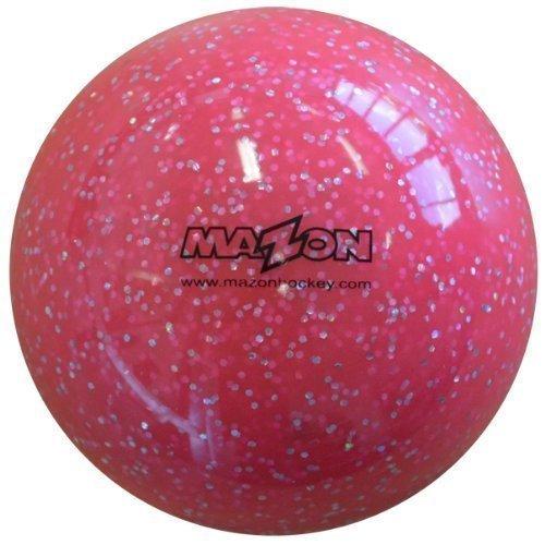 Smooth Hockey Ball - Mazon Smooth Field Hockey Ball (Glitter Pink, 1 Ball)