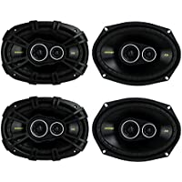 4) New Kicker 40CS6934 6x9 900W 3 Way Car Coaxial Speakers Stereo Audio CS6934