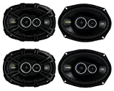 "4) New Kicker 40CS6934 6x9"" 900W 3 Way Car Coaxial Speakers Stereo Audio CS6934"