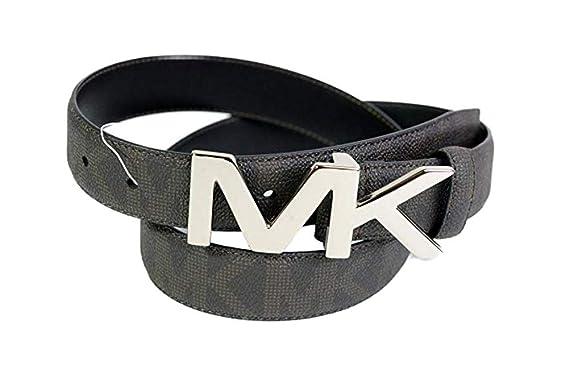 prezzo di fabbrica bellezza vari stili Michael Kors - Cintura da uomo in pelle argentata, taglia 30 ...