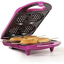 Holstein Housewares HF-09031M Heart Waffle Maker - Magenta