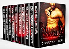 """FREE with Kindle Unlimited. 99c to buy today (normally $7.99). Don't Miss Out! Love VAMPIRE romance novels? Well how about TEN of them??This is a """"once in a blue moon"""" TEN book box set bundle full of bestselling vampire romances and brought ..."""