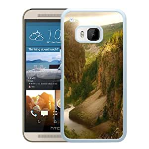 Beautiful And Unique Designed With Mountains Wood Birds Weightlessness (2) For HTC ONE M9 Phone Case