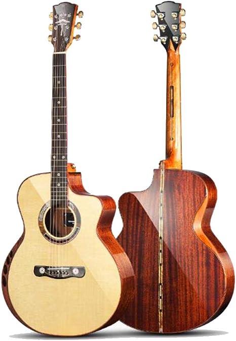 QING.MUSIC Guitar Guitarra 41 Pulgadas Instrumento de Guitarra ...