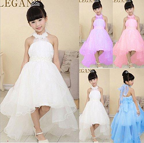 391c085b10a95 Bigood Robe de Princesse Fille Tulle Soirée Cérémonie Mariage Epaule Nue  Mode  Amazon.fr  Vêtements et accessoires