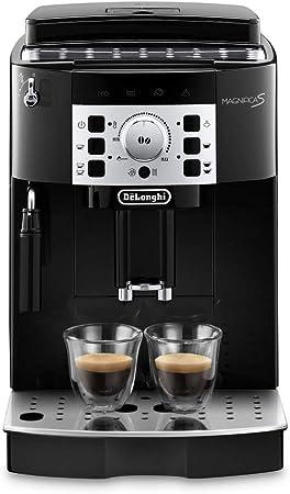 De'Longhi Magnifica S ECAM 22.110.B Kaffeevollautomat mit Milchaufschäumdüse für Cappuccino, Direktwahltasten für Espresso und Kaffee,
