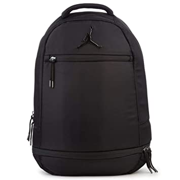 aa460391574 Amazon.com | Jordan 9A1967-023 Skyline Flight Black Backpack | Casual  Daypacks