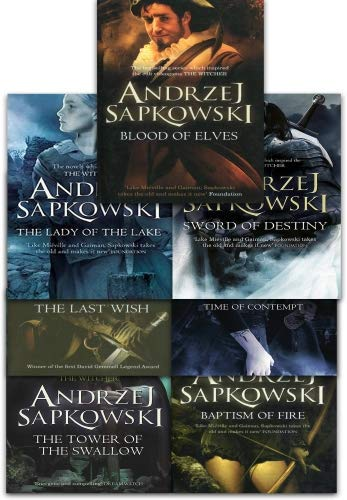 Andrzej Sapkowski Witcher Series Collection 7 Books Set