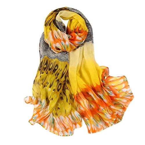 Scarves,lookatool Fashion Women Long Soft Wrap scarf Ladies Shawl Voile Scarf