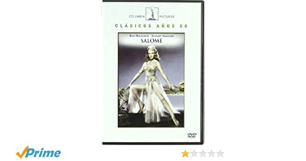Salomé [DVD]: Amazon.es: Rita Hayworth, Stewart Granger, William Dieterle, Columbia Pictures: Cine y Series TV