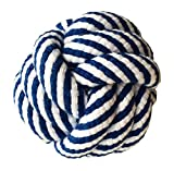 Image of FUNPET Dog Rope Toy Durable Chew Knot Ball for Aggressive Puppy Pets