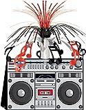Centrotavola stereo ghetto Anni '80 Taglia Unica