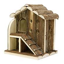 Living World Tree House Real Wood, 2-Level House