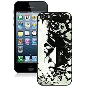 New Personalized Custom Designed For iPhone 5s Phone Case For Batman Black and White Phone Case Cover