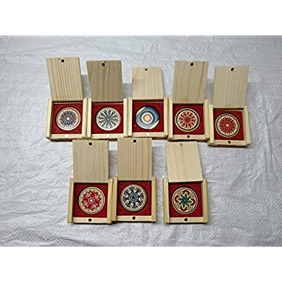 Precise KD Carrom Striker Tournament Grade Board Accessory Genuine Acrylic Striker Approved & Recognised in Carrom Federation of India, International Carrom Federation (Elegant S06): Toys & Games