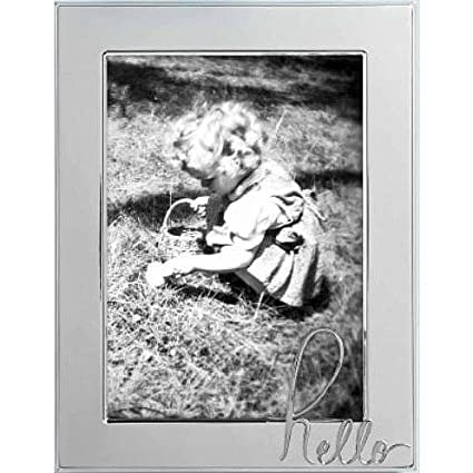 Amazon Kate Spade New York In A Word Hello 5x7 Picture Frame