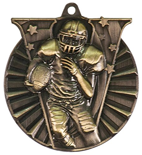 Trophys Trophies Footbal Medal (Trophy Cruch Football Medal Medal and Ribbon in Bulk Champion Series)