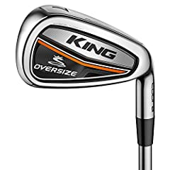 COBRA Golf's original Oversize Irons quickly became the #1 selling iron a few years ago, now, we are re-introducing our latest innovations in a new KING Oversize Iron set. Advanced technology coupled with a new design allowed us to create our...