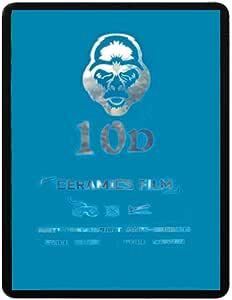 واقي شاشة 10D نانو سيراميك لأجهزة آيباد 12.9 برو 2020 (12.9 بوصة) - إطار أسود شفاف