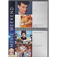 Big / Garfield The Movie / Home Alone 2 / The Sandlot 4 DVD Set ( 4 Movie Weekend Feature Film Collection
