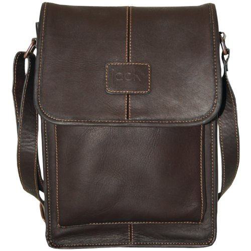 Jill.e Designs 10-Inch Jack Metro Colombian Leather Bag f...