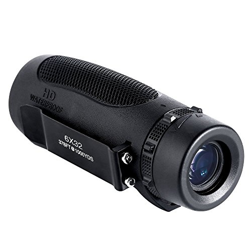 Wingspan Optics Scout 6X32 Compact Wide View Monocular with Carry Clip. Lightweight, Waterproof and All-Climate Durable. Perfect for Nature Lovers, Hikers and Bird Watchers on the Go by Wingspan Optics (Image #8)