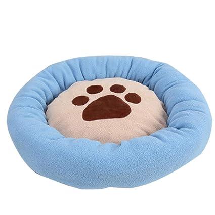 Globalqi Perrera Caliente Las perreras cálidas para Perros, la Forma Redonda y cómoda de la
