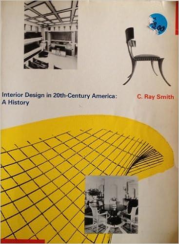 Amazon Interior Design In 20Th Century America A History 9780060463229 C Ray Smith Books