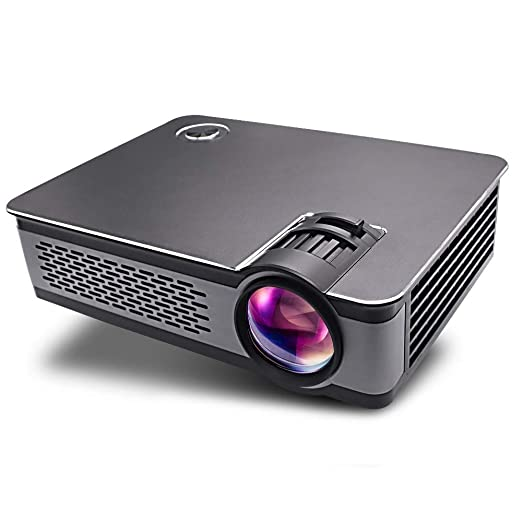 Proyector, 1080P HD Proyector 3300 lúmenes Multimedia Cine en casa ...